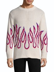 Ovadia And Sons Cotton Flame Sweater Multi
