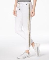 Tommy Hilfiger Sport Drawstring Sweatpants A Macy's Exclusive White