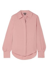 Tom Ford Silk Crepe De Chine Blouse Pink