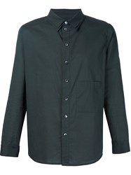 By Walid Chest Pocket Shirt Black