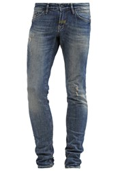 Meltin Pot Misfits Slim Fit Jeans Stone Blue