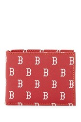 Dooney And Bourke Red Sox Credit Card Billfold