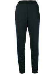 Prada Tapered Track Pants Black