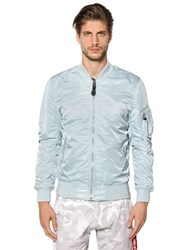 Alpha Industries Ma 1 Vf Lw Slim Fit Nylon Bomber Jacket