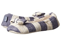Bedroom Athletics Katy Denim Cream Women's Slippers White
