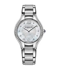Raymond Weil Ladies Silvertone Diamond Watch
