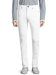 Dl1961 Russell Slim Straight Jeans White