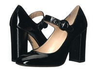 Summit By White Mountain Alivia Black Patent Leather Women's Shoes