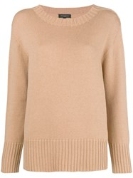 Antonelli Loose Fitted Sweater Nude And Neutrals