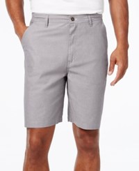 Geoffrey Beene Men's Classic Fit Chambray Shorts Graphite
