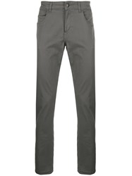 Fay Slim Fit Chinos Grey