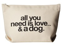 Dogeared All You Need Is Love Tote Black Canvas Tote Handbags Multi