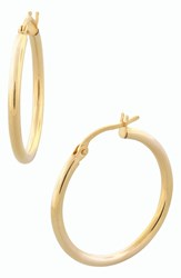 Bony Levy 14K Gold Hoop Earrings Yellow Gold