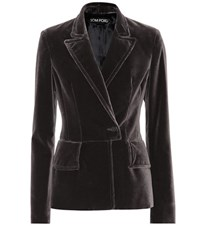 Tom Ford Velvet Blazer Grey