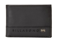 Billabong Vacant Bi Fold Black Bi Fold Wallet