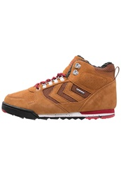 Hummel Nordic Roots Forest Winter Boots Ginger Brown
