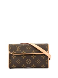 Louis Vuitton Vintage Florentine Belt Bag Brown