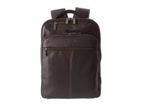 Kenneth Cole Reaction Back Stage Access Colombian Leather Computer Backpack Brown Backpack Bags