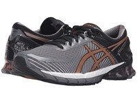Asics Gel Kinsei 6 Carbon Copper Black Men's Running Shoes Gray