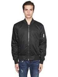 G Star Padded Nylon Bomber Jacket