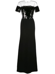 Sachin Babi And Fiona Gown Black