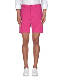 Burberry Brit Trousers Bermuda Shorts Men Fuchsia