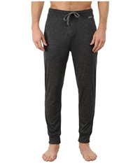 Jockey Poly Jersey Varigated Knit Sleep Pants Charcoal Heather Grey Men's Pajama Gray