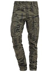 G Star Gstar Rovic Tx 3D Tapered Cargo Trousers Dk Bronze Green Naval Blue Ao Oliv