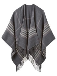 Joules Innis Check Cape Grey