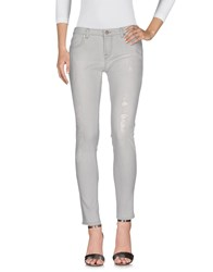 Up Jeans Denim Denim Trousers Grey