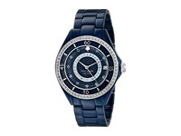 Kate Spade Pave Enamel Seaport Grand 1Yru0687 Navy 289C 1 Watches Blue