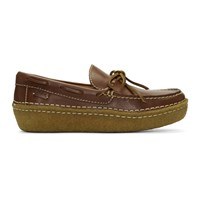 Polo Ralph Lauren Brown Leather Myles Loafers