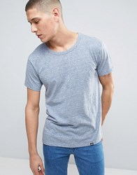Cheap Monday Standard Shell T Shirt Strict Blue Melange