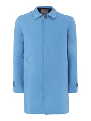 Peter Werth Twyford Cotton Raincoat Airforce Blue