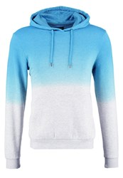 Your Turn Hoodie Mottled Light Grey Blue