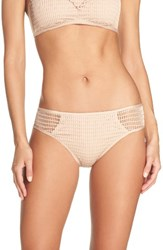 Kenneth Cole Women's New York Wrapped In Love Hipster Bikini Bottoms Sand