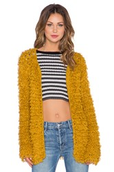 For Love And Lemons Joplin Cardigan Yellow