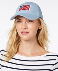 Collection Xiix Flag Patch Baseball Cap Blue