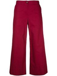 I'm Isola Marras Cropped Trousers Red