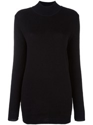 Stephan Schneider High Neck Jumper Black
