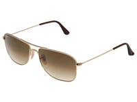 Ray Ban Rb3477 Gold Frame Brown Gradient Lens Metal Frame Fashion Sunglasses