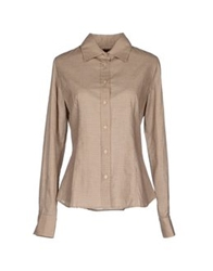 Daks London Shirts Sand