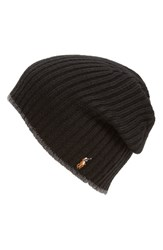 Polo Ralph Lauren Men's Classic Merino Wool Cap Black Polo Black
