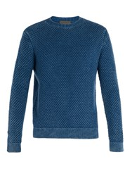 Iris Von Arnim Stonewashed Cashmere Sweater Blue