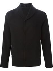 Emporio Armani Shawl Collar Cardigan Black