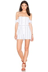 Saylor Laney Romper White
