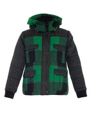 Sea Buffalo Check Hooded Jacket