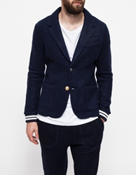 Band Of Outsiders Felted Fleece Mix Blazer Classic Navy