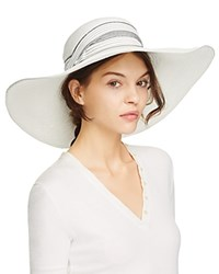 Yestadt Millinery Super Sun Hat White