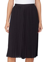 Catherine Malandrino Sylvia Knife Pleated Skirt Black